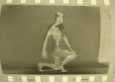 3 Négatifs Photos Homme Modèle Nue Curiosa Erotique Vers 1960