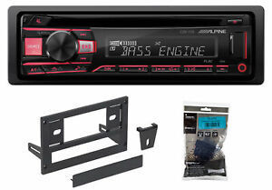 ALPINE CD Receiver Stereo Android/MP3/WMA/USB/AUX For 1987-1993 Ford Mustang