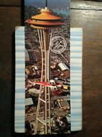 giant photo POST CARD 1962 WORLD'S FAIR SEATTLE WASHINGTON
