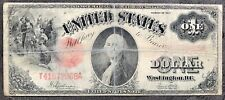 USA 1 dollars 1917 banknote LARGE SIZE US Legal Tender fictif One #7868