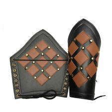 Bracers Ancient Armour Armor Leather Arm Guard Medieval Roman Vambraces Pair