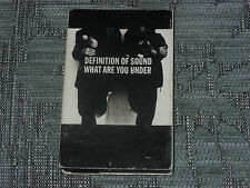 Definition of Sound:  What are you under   Cassingle   NEW EX SHOP STOCK