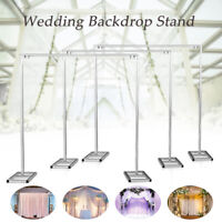 3X6M 3X3M Adjustable Telescopic Curtain Stand Support Frame Wedding Backdrop AU