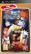 Naruto Shippuden: Ultimate Ninja Heroes 3 (Sony PSP, 2011) - European Version