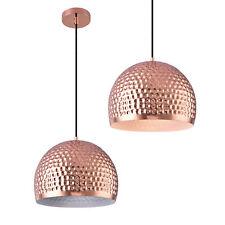 [lux.pro]® Lámpara colgante de metal cobre lámpara de techo de diseño