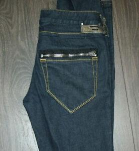 Diesel Clush Stretch Jeans 30X34 98 Cotton 2 Elastane Dark Wash Skinny