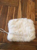 Adrienne Landau Rabbit Fur Hand Muff/warmer