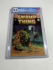 Swamp Thing 4 Cgc 9.2 Ow Pages Dc Comics Bronze 006