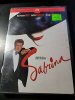 Sabrina - (DVD, Widescreen) - Harrison Ford - Julia Ormond - Brand New Sealed!