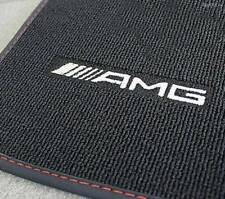 Mercedes Benz AMG Genuine Floor Mats W 176 a Class Black/Red Rhd Nip