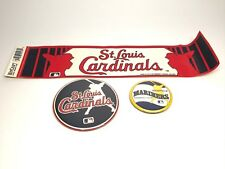 Wingraft Vintage St. Louis Cardinals Button And Bumper Stickers
