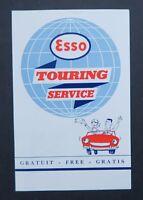 Publicité ESSO TOURING SERVICE goutte automobile Tour Eiffel Paris oil can