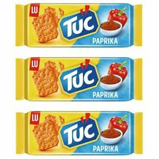 3x Tuc Cracker Paprika 100g / 3.52oz - Snack Food -USA