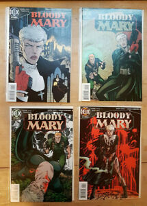 Bloody Mary / Helix DC Comics - 1996 / Complete Series #1-4 VF