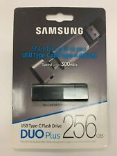 New Samsung USB 3.1 Flash Drive DUO Plus 256GB MUF-256DB/AM