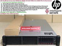 HPE DL380 Gen10 2x 4114 Silver 384GB 8x 300GB 15K SAS P408i-A  2U Rack Server