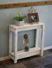 WHITE SMALL ENTRY CONSOLE