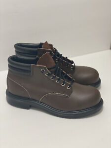 """Red Wing Heritage 6"""" Steel Toe Leather Safety Boots Men's Size 11.5 (EEE) 8215"""