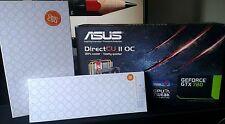 Asus gtx 780 DCII OC nvidia + waterblock EK + backplate EK