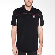 Ducati Men's Polo Shirt - Ducati Corse '14 Black - Size Large- 987684835