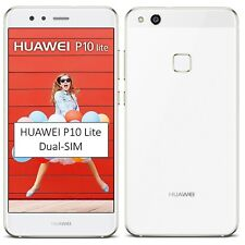 NUOVO CON SCATOLA HUAWEI P10 Lite Dual-SIM 32GB Bianco Sbloccato Di Fabbrica 4G/LTE SIMFREE