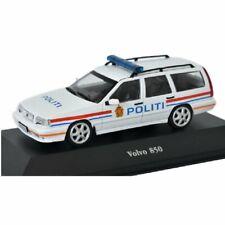 Volvo 850 Policía police  1:43 coche Atlas Diecast