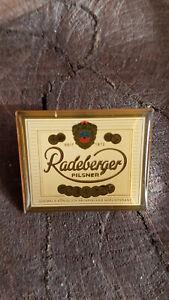 Pin Werbung Radeberger Bier