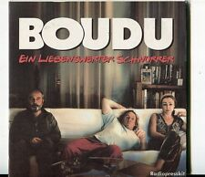 Gerard Depardieu  CD PROMO Radio Press Kit   BOUDU  © 2005 Concorde / 14 Tracks