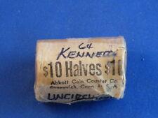 1964-P Kennedy Silver Half Dollar Original BU Roll of 20 Coins B4138