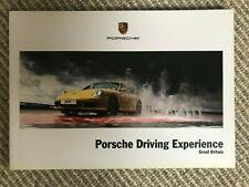 PORSCHE DRIVING EXPERIENCE HARDBACK BROCHURE