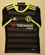 5+/5 CHELSEA 2016~2017 ORIGINAL FOOTBALL AWAY JERSEY SHIRT ADIDAS BOYS 7-8 YEARS
