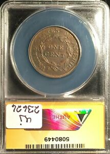 1810 Large Cent Graded by ANACS VF-25 Details-Corr/Burnished/Tld==FREE SHIPPING!