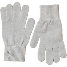 Original Penguin Winter Gloves Grey Stylish Glove Authentic Designer Fashion
