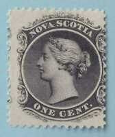 NOVA SCOTIA 8 MINT  HINGED OG *   NO FAULTS VERY FINE!