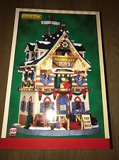 Lemax Christmas Village Noah's Ark Toys Illuminated Building BRAND NEW