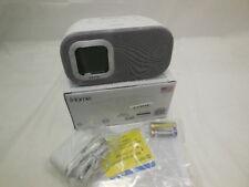 Sound Design iBt210Ws Bluetooth Dual Alarm Fm Clock Radio with Speakerphone and