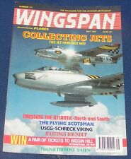 WINGSPAN MAGAZINE MAY 1994 - COLLECTING JETS THE JET HERITAGE WAY
