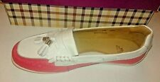 Peter Millan golf shoes (7) pink and white LS15F 13