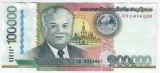 Laos 100000 kip RARE J-SERIES !!!!! 100,000 kip UNC 2011