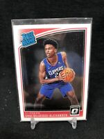 2018-19 Donruss Optic Shai Gilgeous-Alexander Rated Rookie No.162 Clippers  L83