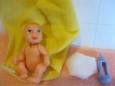BARBIE Pregnant Midge BABY nude NEWBORN INFANT HAPPY FAMILY~a Mini Krissy Doll