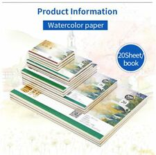 Professional Watercolor Paper Hand Painted Water Book For Artist Student Art