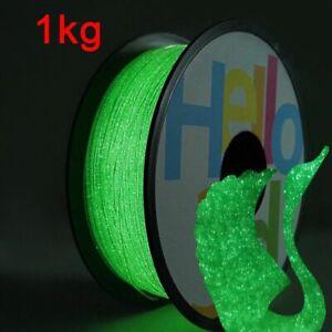 3D Printer Filament Red Firefly Greed Solid Glow Rainbow Cartoon Equipment Lot