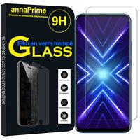 Vitre Film Verre Trempe Protecteur d'écran Huawei Honor 9X/ 9X Pro/ 9X Premium