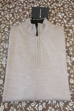 NWT Kiton Men's 100% Cashmere 1/4 Zip Sweater Size L NWT $1585
