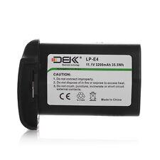 3200mAh LP-E4 Li-ion Battery for Canon EOS 1D Mark III IV 1DC 1DX 1DS Mark II
