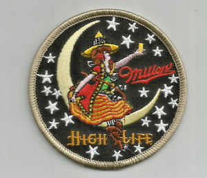 Miller High Life Beer advertising patch 3 in #7986