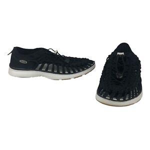 Keen Men's UNEEK 02 Black Para Cord Sneaker Sandals Size 8