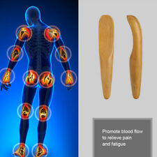 1xMini Chinese Wood Guasha Massage Gua Sha Board Acupressure Stick Trigger Point