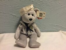 d8e816c6262 Ty Beanie Babie Baby USS Ronald Reagan CVN 76 RONNIE Navy Sailor USNL Gray  ~NEW